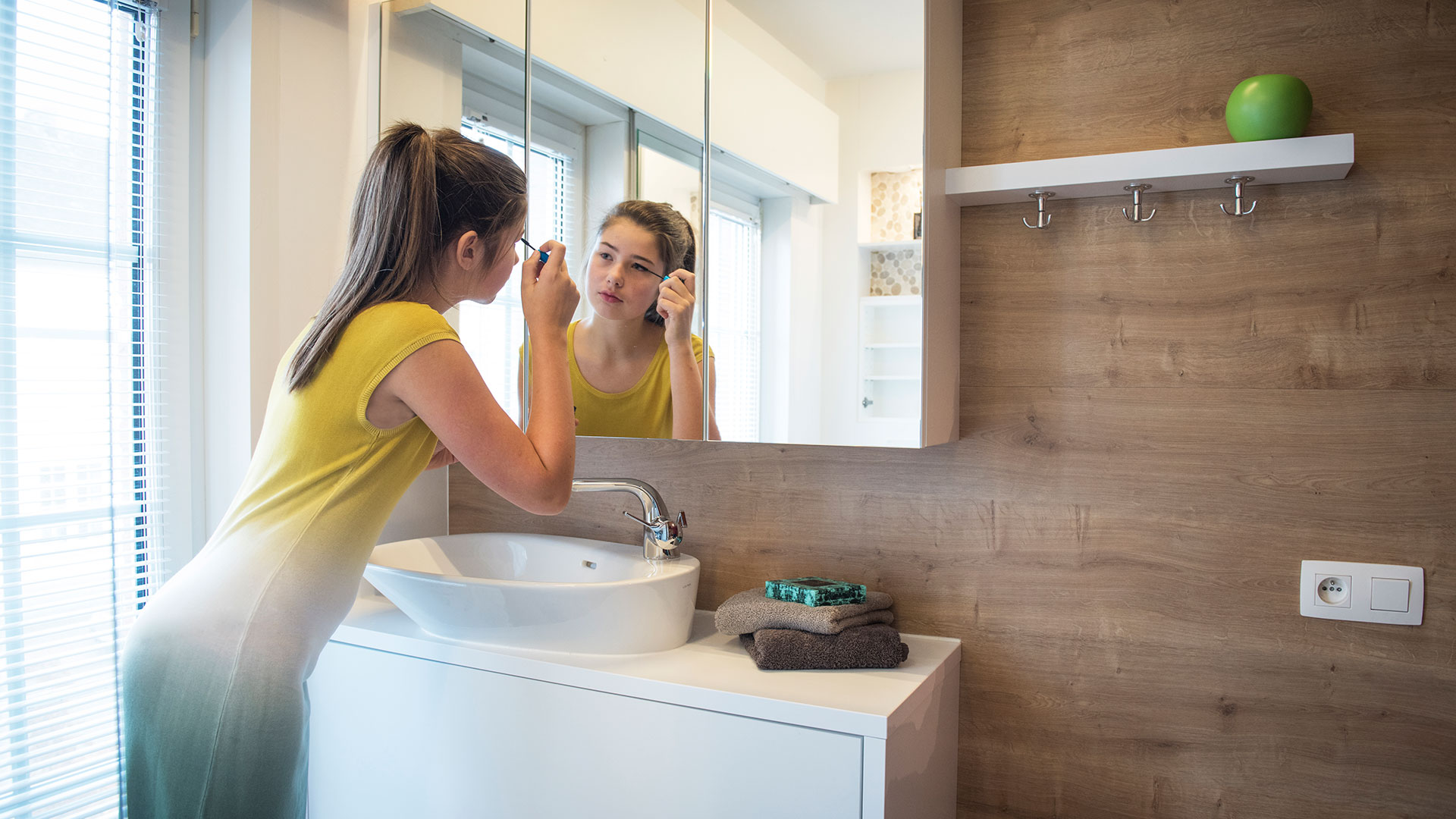 Renoconcept optimises space in your bathroom renovation. Ask for advice!