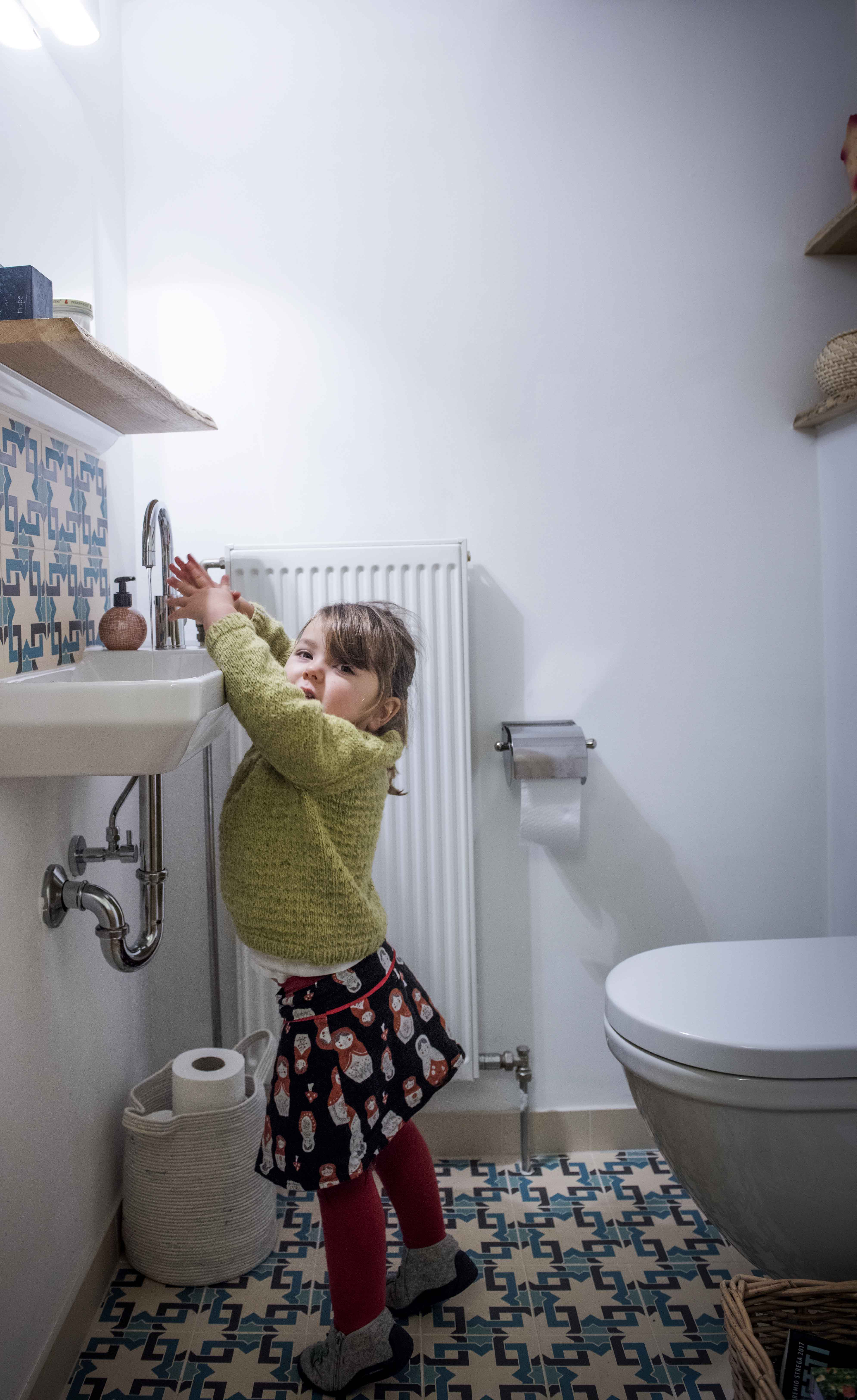 La rénovation de vos toilettes avec une touche créative.