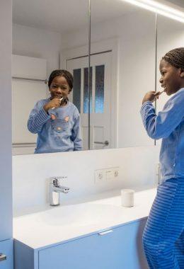 De onderhoudsvriendelijke badkamer!