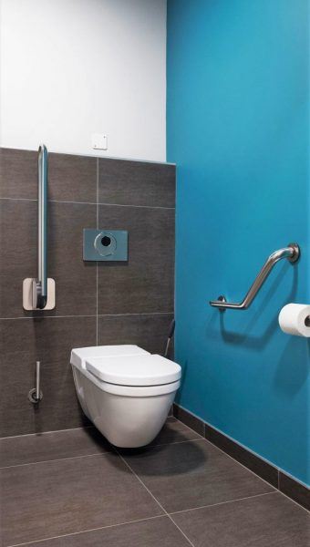 Project Renoconcept: Uitnodigende openbare toiletten. Foto WC..